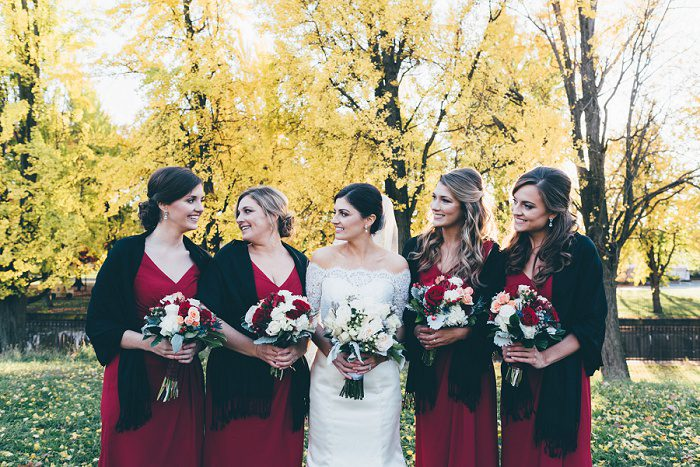 Traditional Black, White, & Red Wedding from Levana Melamed Photography