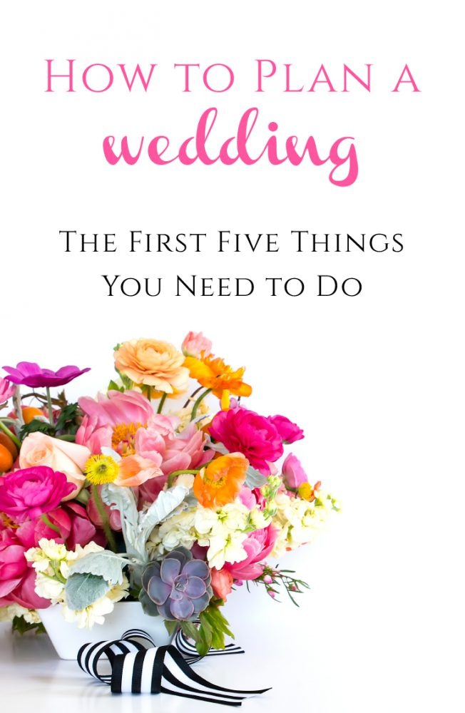 How to Plan a Wedding: The First Five Things You Need to Do from Burgh Brides