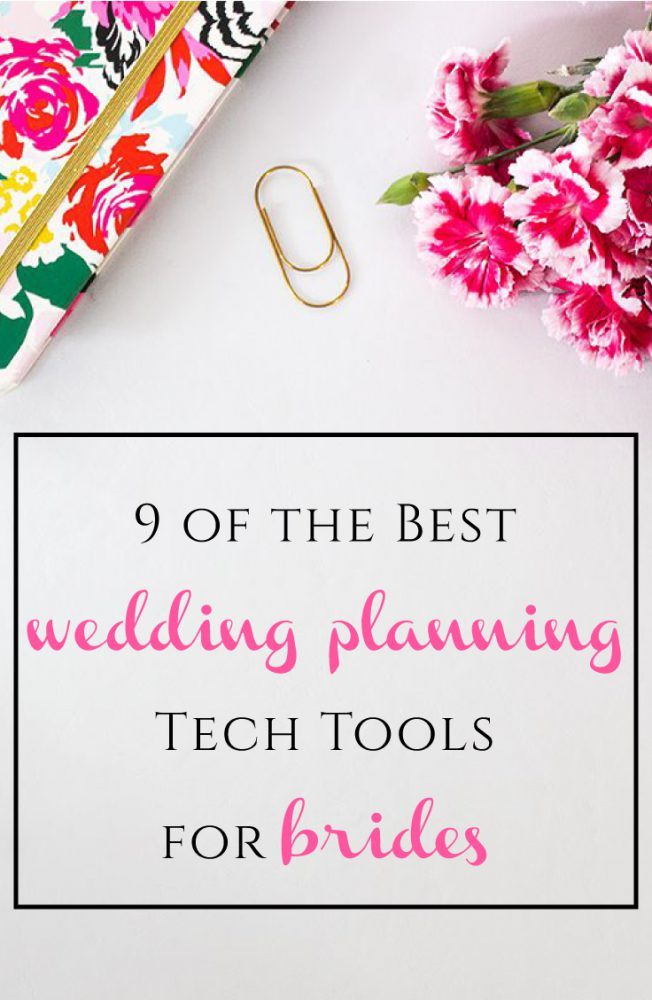 9 of the Best Wedding Planning Tech Tools for Brides from Burgh Brides