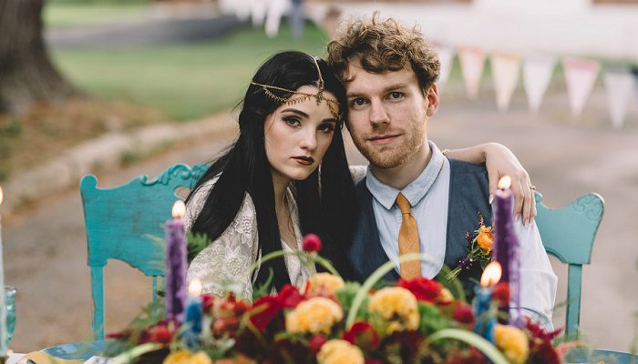 Boho Circus Inspired Wedding Styled Shoot