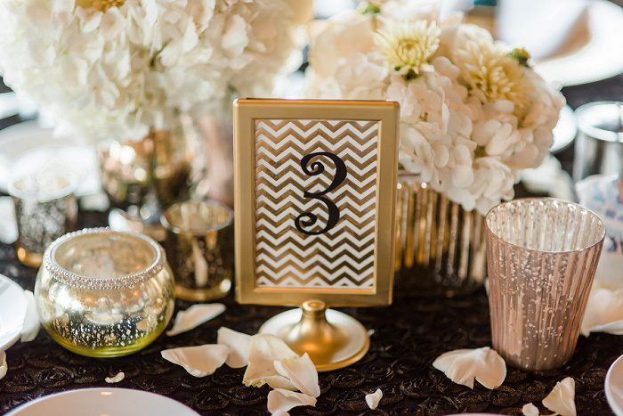 Classic Black & Gold Pittsburgh Wedding from Sky's the Limit Photography featured on Burgh Brides