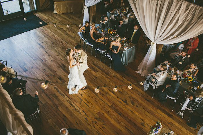 Colorful Sunflower Wedding from All Heart Photo & Video and Soiree by Souleret featured on Burgh Brides