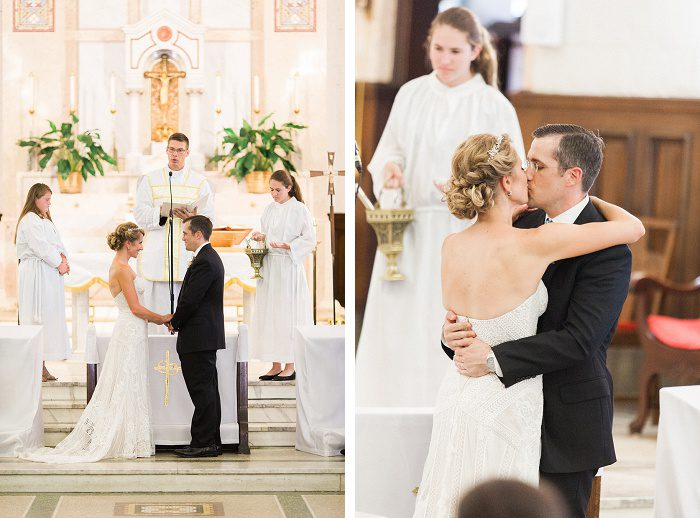 Delightfully Simple Wedding from Lauren Renee Designs featured on Burgh Brides