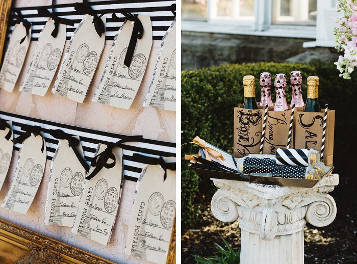 French Inspired Bridal Shower Styled Shoot from JPC Event Group and Rachel Rowland Photography featured on Burgh Brides