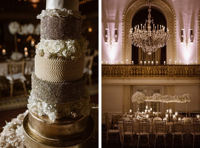 Glamorous Ivory & Gold Wedding from Whitling Photography featured on Burgh Brides