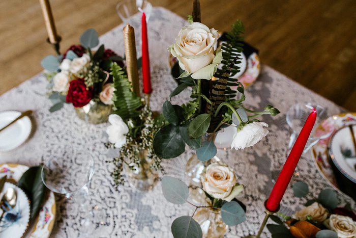 Modern Art Deco Wedding Inspired Styled Shoot from Burgh Brides Vendors