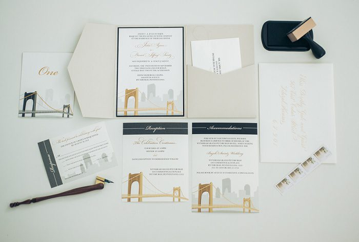 Purple Wagon Designs - Pittsburgh Wedding Stationery Designer & Burgh Brides Vendor Guide Member