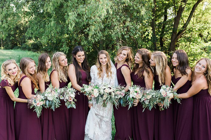 Vintage Meets Boho Wedding from Breanna Ellizabeth Photography featured on Burgh Brides