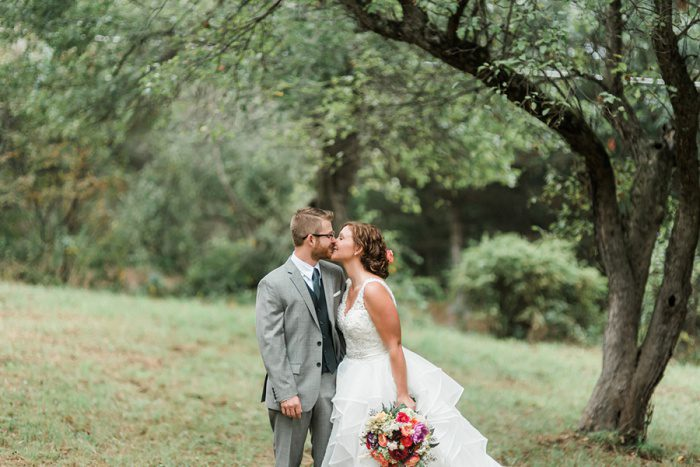 Colorful DIY Farm Wedding from Dawn Derbyshire Photography featured on Burgh Brides