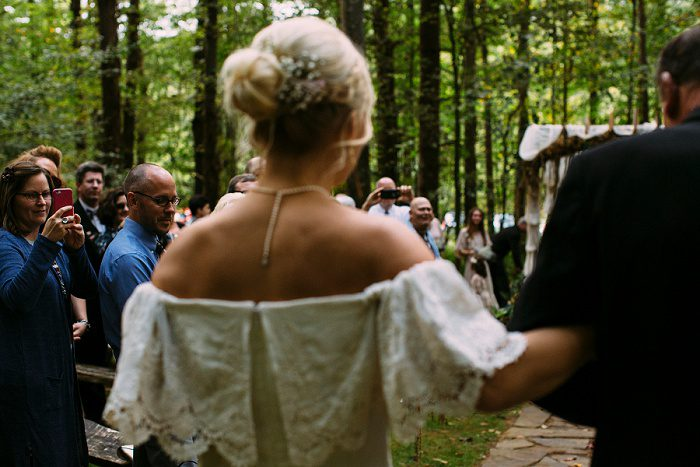 Heartfelt Woodsy Wedding from Natalie Mancuso Photography featured on Burgh Brides