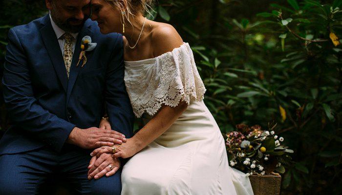 Heartfelt Woodsy Wedding at Fallingwater: Ashley & David