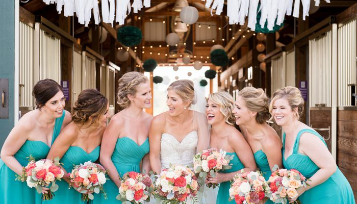 Summery Teal Wedding at Destiny Hill Farm: Joelle & Justin