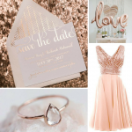 Rose Gold Wedding Inspiration from Burgh Brides