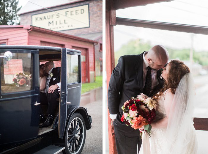 Luxurious & Rustic Fall Wedding from Kelsey Kradel Photography featured on Burgh Brides