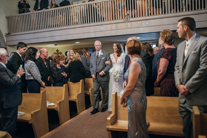 Sparkly Mixed Metallics Wedding from Mandy Fierens Photography featured on Burgh Brides