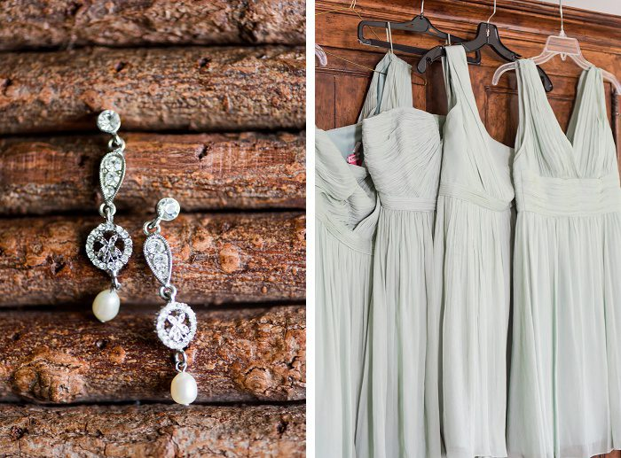 Rustic Sage & White Wedding from Leeann Marie Wedding Photographers featured on Burgh Brides