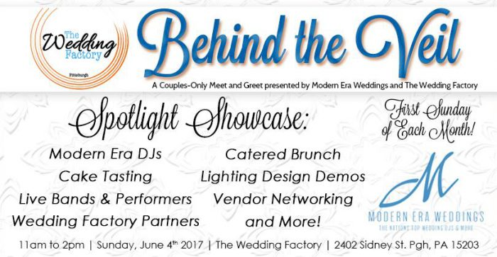 Behind the Veil Presented by Modern Era Weddings and The Wedding Factory