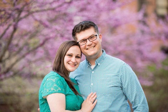 Sweet Summertime Engagement Session from Schneider Photography featured on Burgh Brides