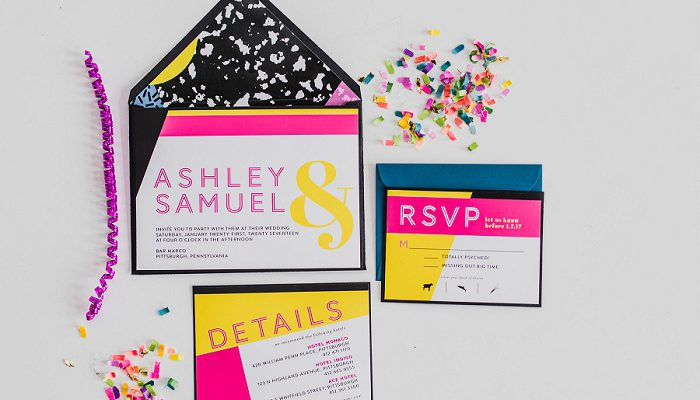 Out of the Box Wedding Inspiration with a 1980s Twist