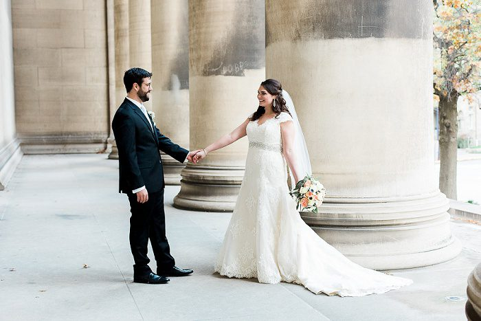 Romantic & Fancy Wedding from Breanna Elizabeth Photography featured on Burgh Brides