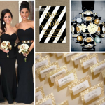 Black & Gold Wedding Inspiration from Burgh Brides