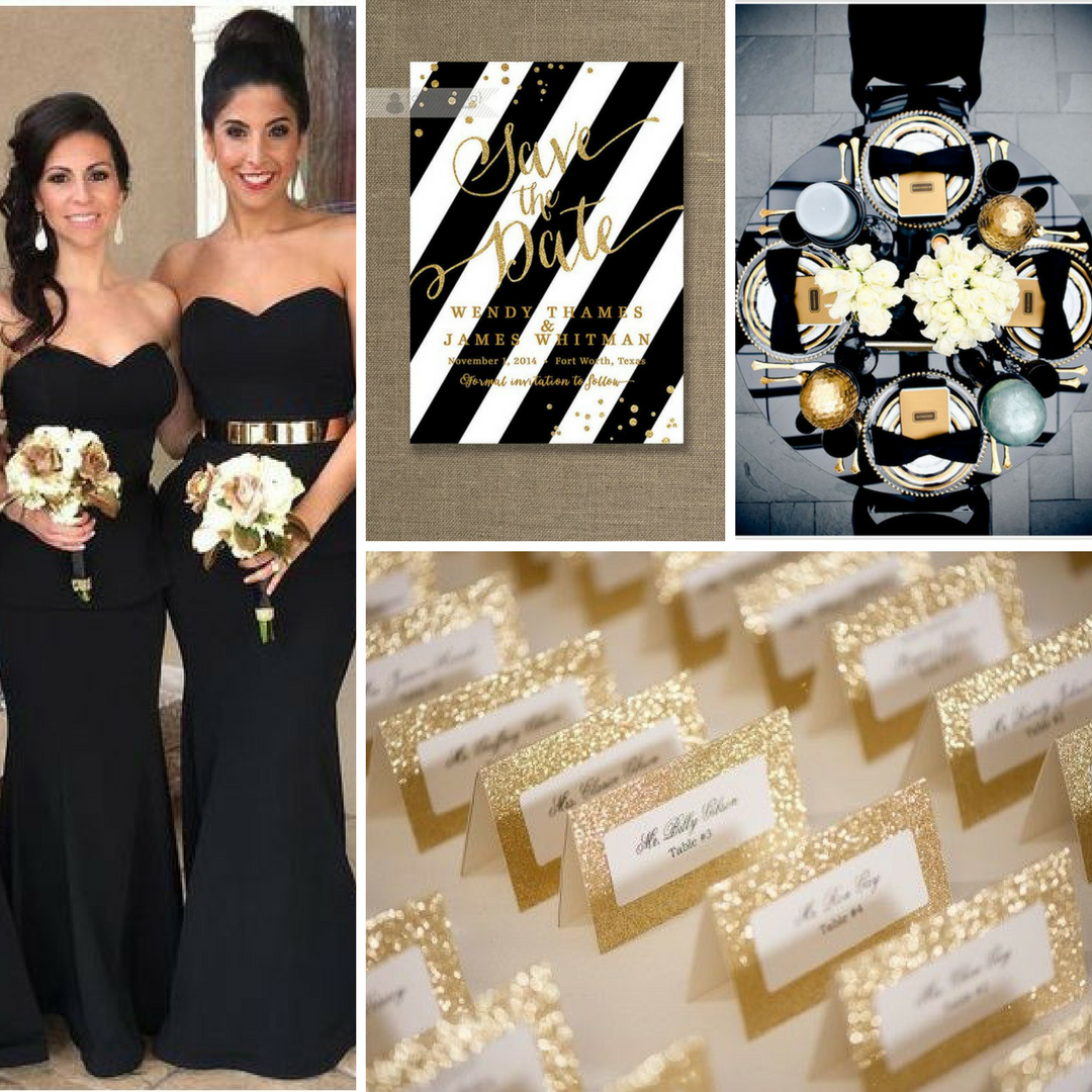 Black & Gold Wedding Inspiration