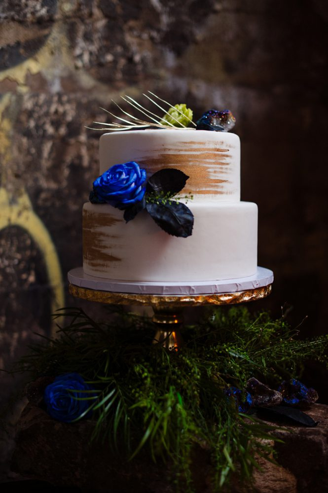 Edgy Industrial Wedding Inspired Styled Shoot by Michael Will Photography featured on Burgh Brides