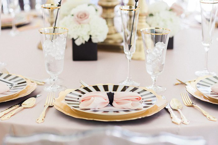 Oh-So-Cute Kate Spade Bridal Shower from Soiree by Souleret and Lauren Renee Designs featured on Burgh Brides