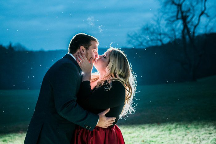Romantic Hartwood Acres Engagement Session from Kathryn Hyslop Photography featured on Burgh Brides