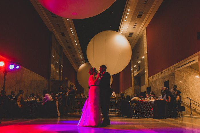Super Fun Polka Dot Wedding at the Children's Museum: Kimberly & Ronald