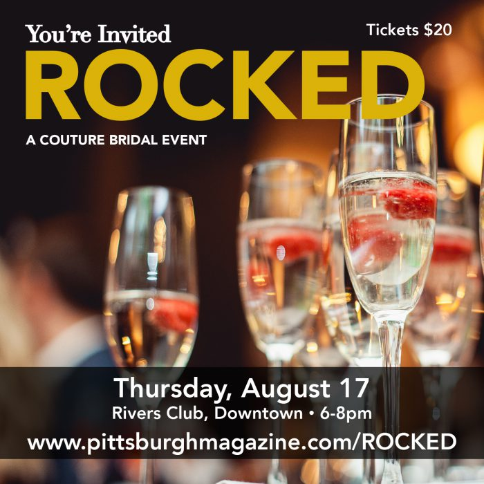 Rocked! A Couture Bridal Event from Pittsburgh Magazine