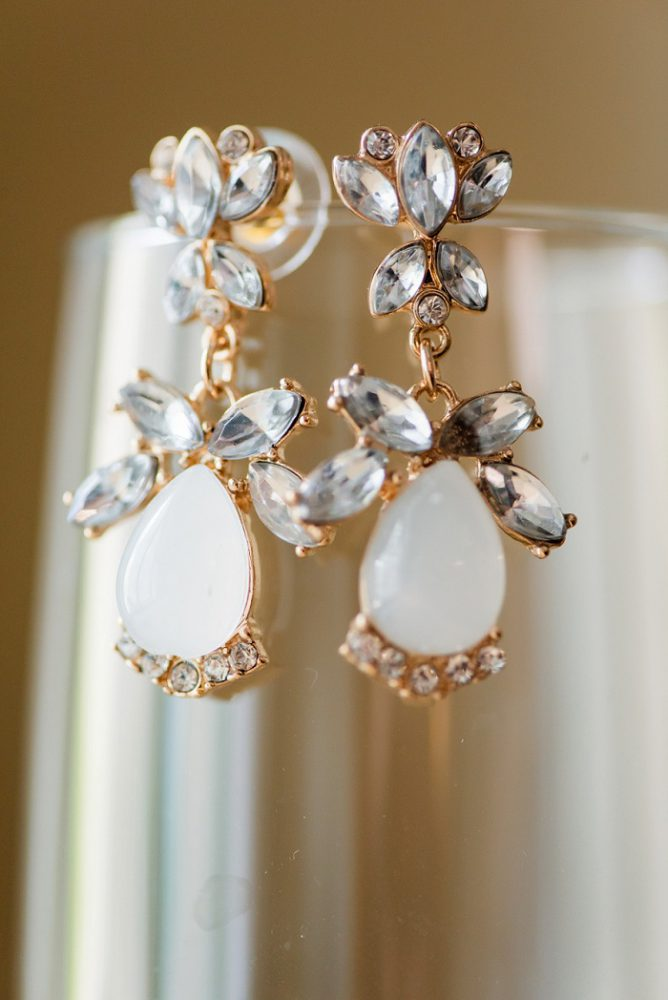Bridal Earrings: Blue Beach Inspired Wedding from Leeann Marie, Wedding Photographers featured on Burgh Brides