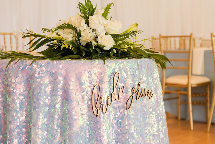Sequin Linen: Blue Beach Inspired Wedding from Leeann Marie, Wedding Photographers featured on Burgh Brides