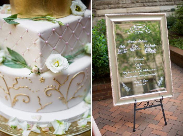 Blush Pink Outdoor Wedding at the Allegheny County Courthouse from Jenna Hidinger Photography featured on Burgh Brides