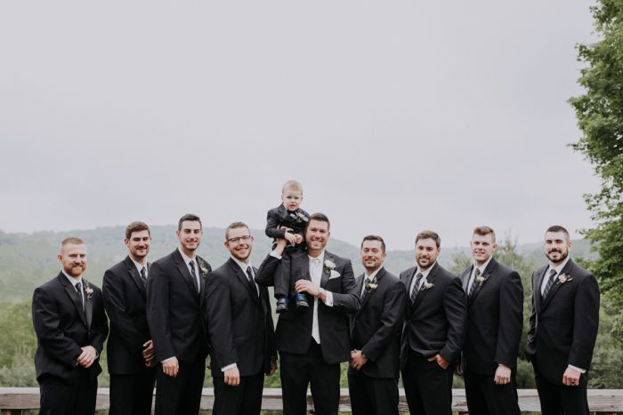 Cool Groomsmen Photos: Charming Rustic Wedding at Oak Lodge from All Heart Photo & Video featured on Burgh Brides