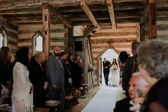Charming Rustic Wedding at Oak Lodge from All Heart Photo & Video featured on Burgh Brides