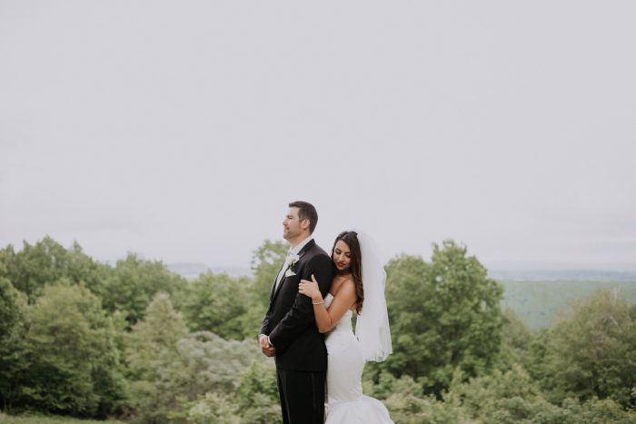 Epic Wedding Photos: Charming Rustic Wedding at Oak Lodge from All Heart Photo & Video featured on Burgh Brides