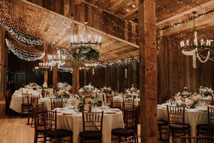 Woodsy Wedding Reception Ideas: Charming Rustic Wedding at Oak Lodge from All Heart Photo & Video featured on Burgh Brides