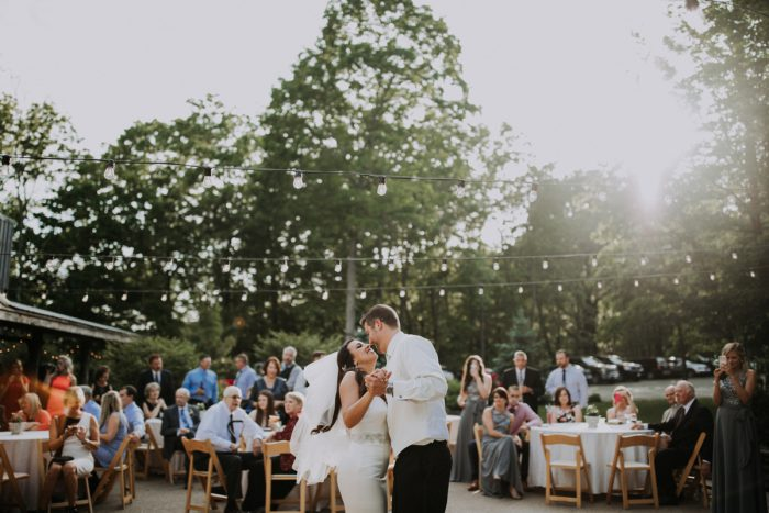 Outdoor Wedding Ideas: Charming Rustic Wedding at Oak Lodge from All Heart Photo & Video featured on Burgh Brides