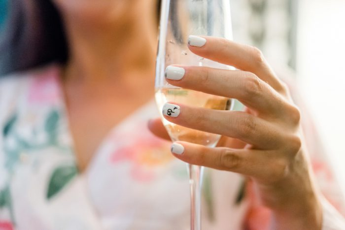 Wedding Nails: Fun Whimsical Wedding from Sky's the Limit Photography featured on Burgh Brides