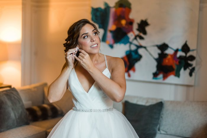 Hayley Paige Wedding Dress: Fun Whimsical Wedding from Sky's the Limit Photography featured on Burgh Brides