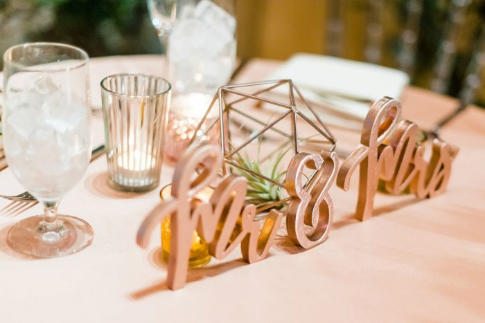 Mr & Mrs Sign: Fun Whimsical Wedding from Sky's the Limit Photography featured on Burgh Brides
