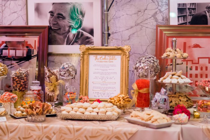 Wedding Dessert Table: Fun Whimsical Wedding from Sky's the Limit Photography featured on Burgh Brides
