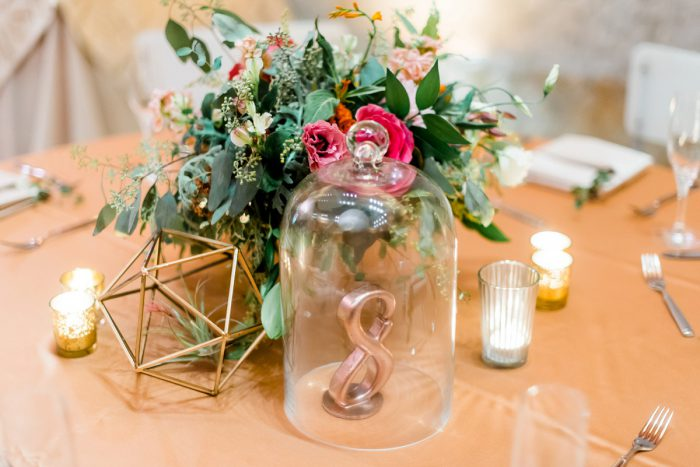 Wedding Table Numbers: Fun Whimsical Wedding from Sky's the Limit Photography featured on Burgh Brides