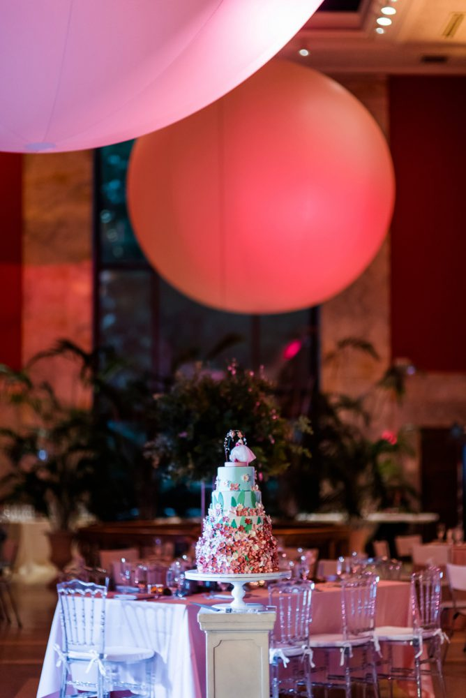 Wedding Lighting: Fun Whimsical Wedding from Sky's the Limit Photography featured on Burgh Brides