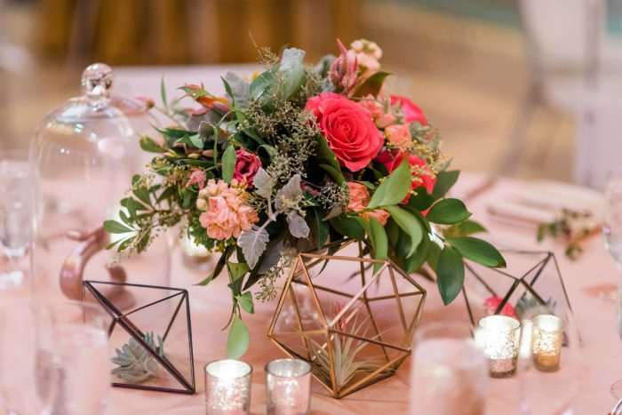 Whimsical Wedding Centerpieces: Fun Whimsical Wedding from Sky's the Limit Photography featured on Burgh Brides