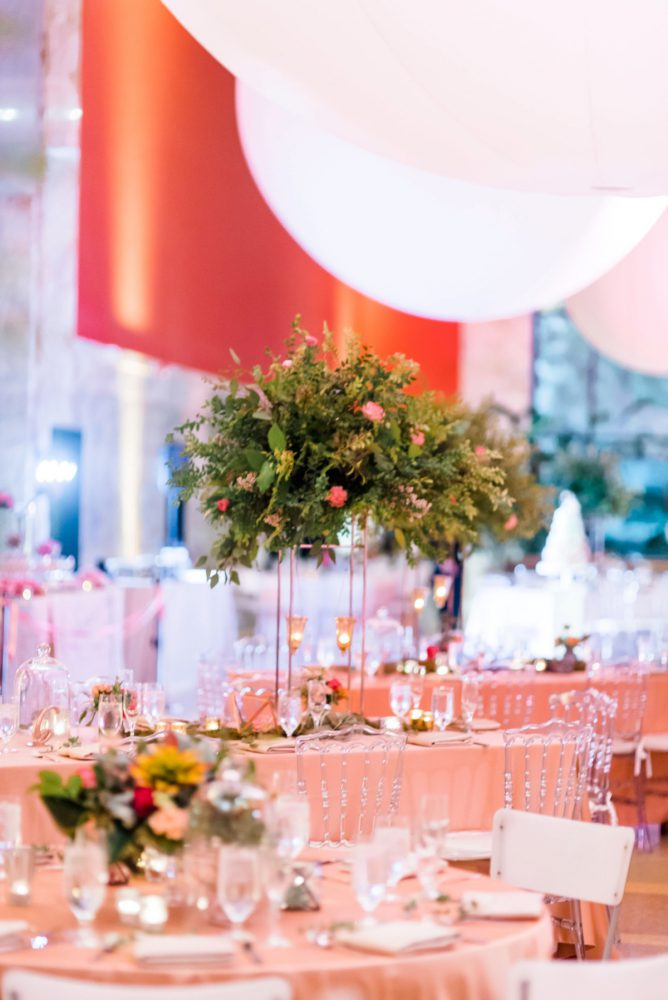 Fern Wedding Flowers: Fun Whimsical Wedding from Sky's the Limit Photography featured on Burgh Brides