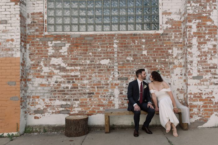 Bride and Groom: Low Key Wedding with a Super Cool Vibe from Whitling Photography featured on Burgh Brides