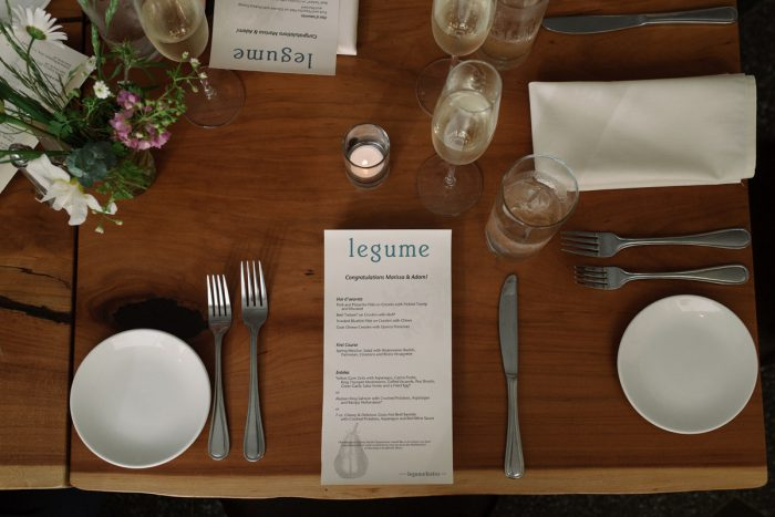 Place Settings: Low Key Wedding with a Super Cool Vibe from Whitling Photography featured on Burgh Brides