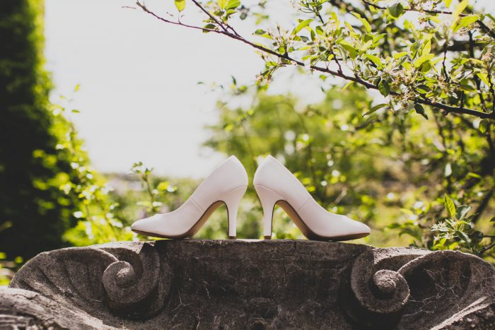 Wedding Shoes: A Schenley Plaza Wedding: ReVeal Pittsburgh by Ryan Zarichnak Photography featured on Burgh Brides
